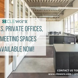 Now Leasing Desks, Offices & Meeting Spaces