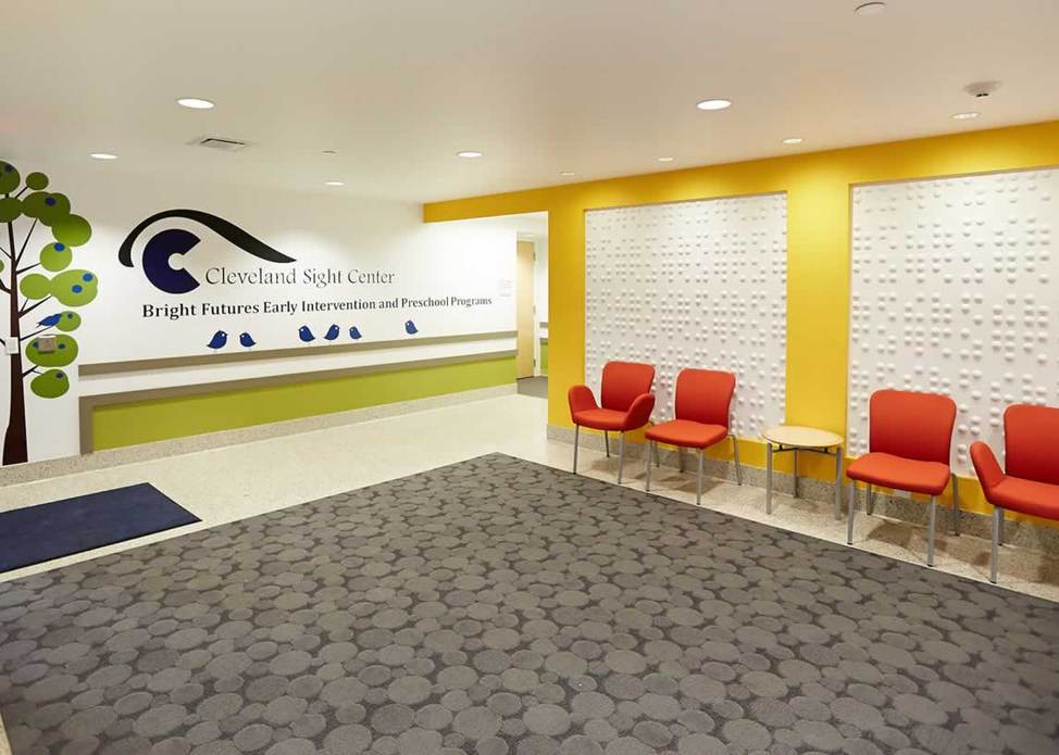 Since 1906 Cleveland Sight Center Has Provided Rehabilitation Services For All Northeast Ohio Residents Of Any Age Who Are Blind Or Visually Impaired
