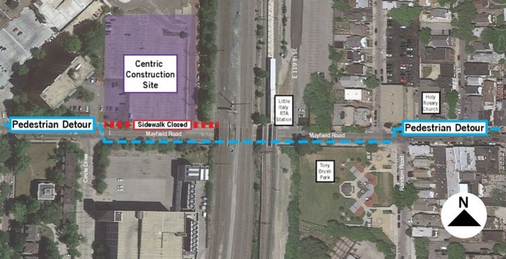 I Drive Us Closure Map these closures are necessary to widen the